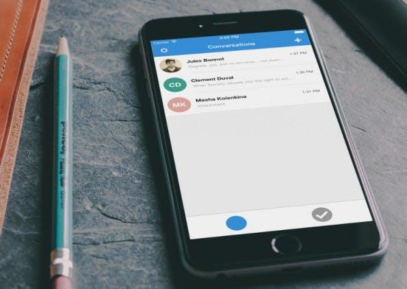 Signal 2.0 bringt das TextSecure-Protokoll auf das iPhone. (Foto: Open WhisperSystems)