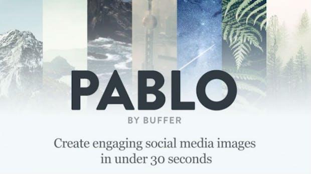 Vorschaubilder wie diese können mit Pablo in Social Media-Beiträge integriert werden. (Bild: Buffer)