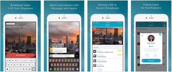 Periscope: Twitter stellte eigene Meerkat-Alternative vor. (Screenshot: iTunes)
