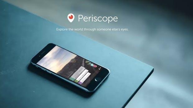 Periscope: Jetzt auch ohne Twitter-Account