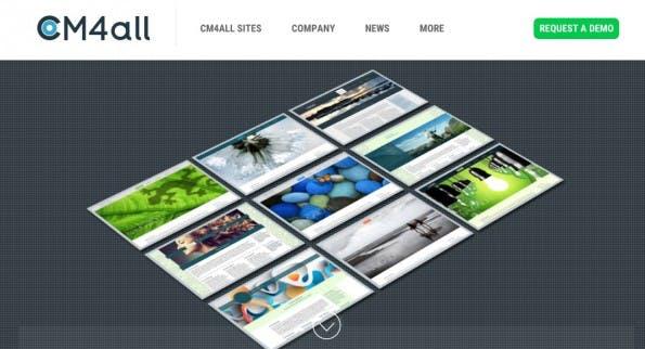 (Screenshot: cm4all.com)