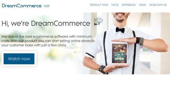 (Screenshot: dreamcommerce.com)