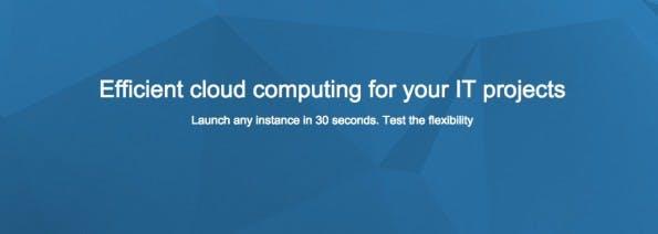 (Screenshot: e24cloud.com)