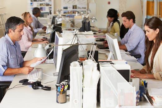 So könnte unsere Arbeitswelt der Zukunft aussehen