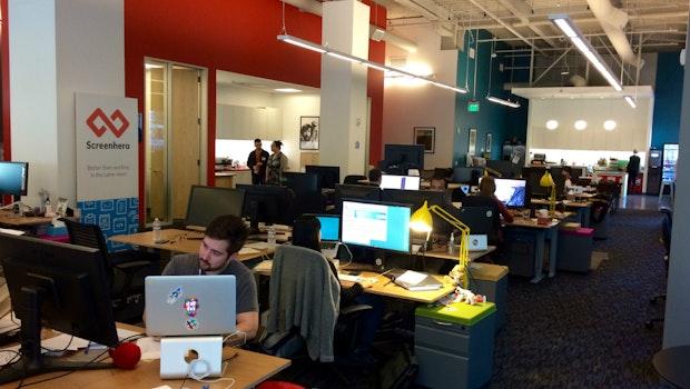 Das Büro von Slack versprüht eher den Charme einer etablierten Werbeagentur als den eines hippen Startups. (Foto: t3n)