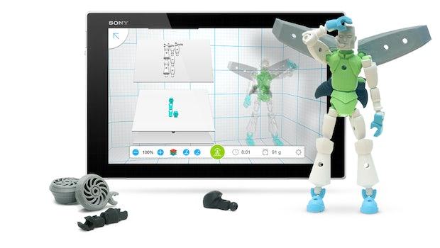3D-Druck-App Tinkerplay (Bild: Autodesk)