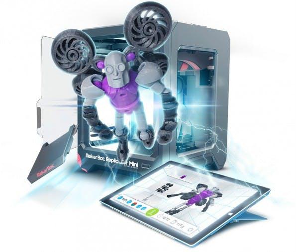 3D-Druck: Mit der Tinkerplay-App können Kinder ihr Spielzeug selbst herstellen. (Bild: Autodesk)
