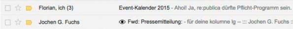 Ugly Mail zeigt an, ob eine erhaltene E-Mail dich zu Marketingzwecken trackt. (Screenshot: t3n.de)