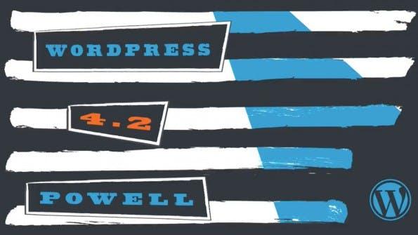 """WordPress 4.2 """"Powell"""" ist da – das ist neu. (Grafik: WordPress.org)"""