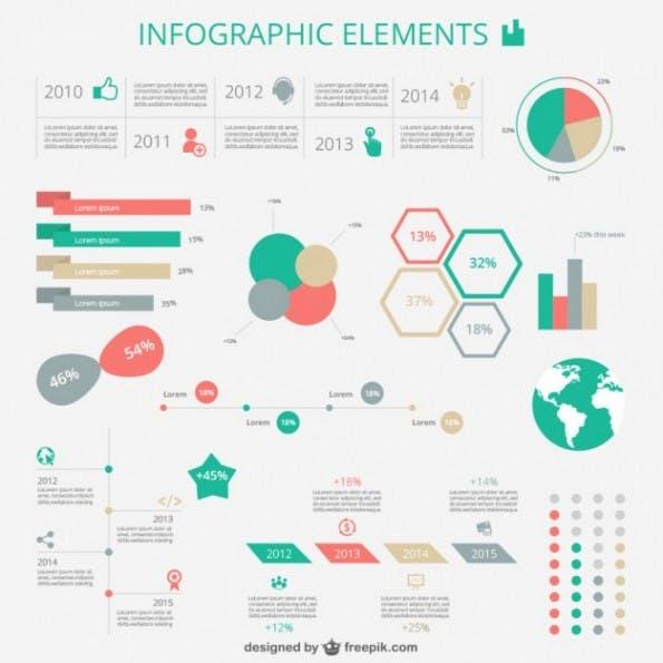 1 kostenloses Infografik Template 6
