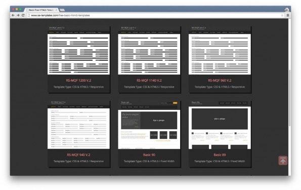 HTML5 CSS Templates 2