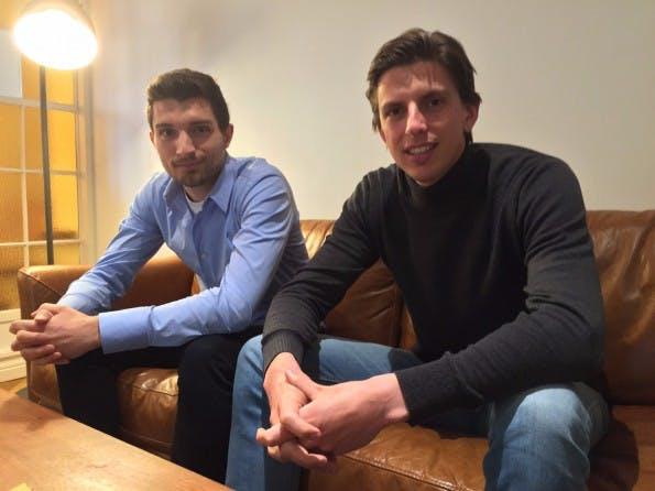 Perdoo-Gründer Jonathan Morrice (l.) und Henrik-Jan van der Pol: Sie wollen zum Nr. 1-Tool für die OKR-Verwaltung werden. (Foto: Perdoo)