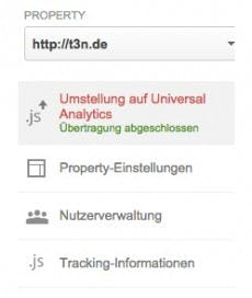 Nach dem Update. (Screenshot: t3n/ google.com)