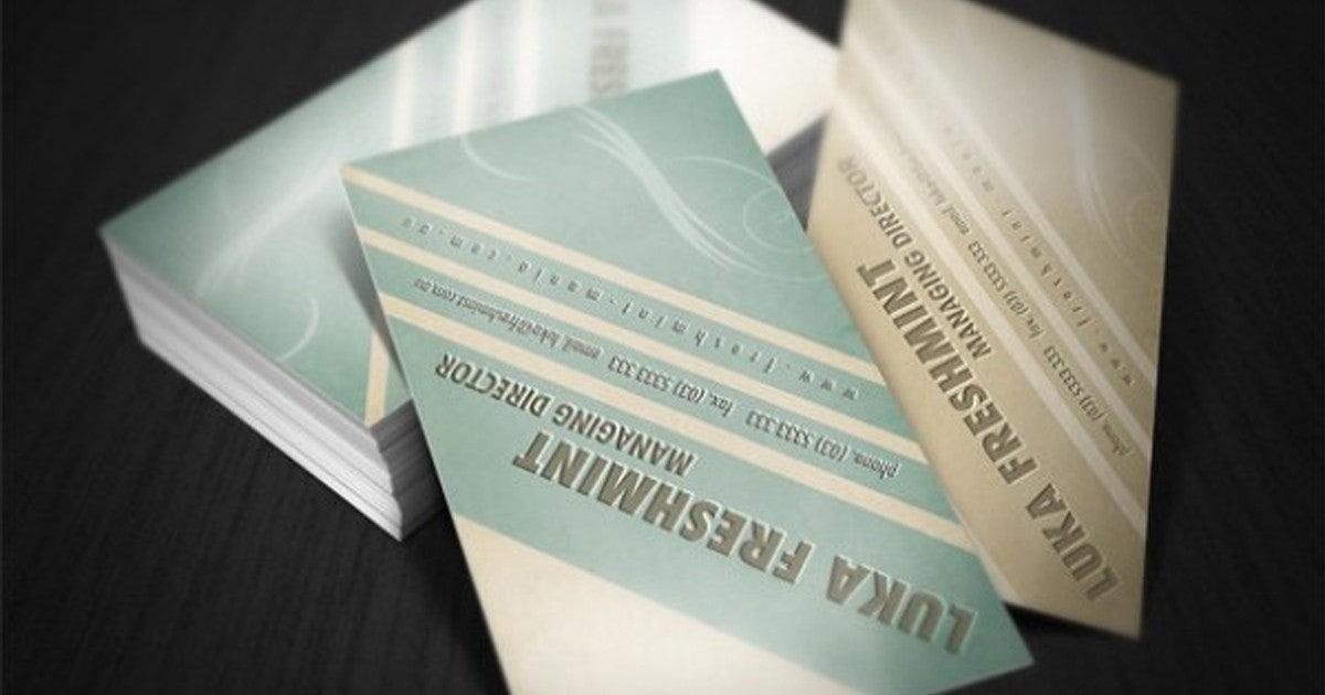 Flipboard 20 Wunderschöne Visitenkarten Vorlagen Für