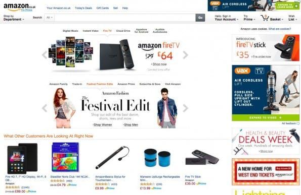 Deutsche Händler, die in Großbritannien verkaufen, brauchen ab sofort eine Rücksendeadresse in Großbritannien. (Screenshot: Amazon.co.uk)
