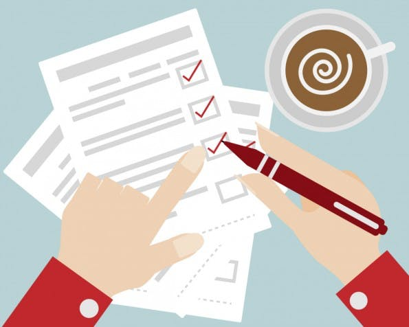 Die To-Do-Liste sollte jeden Morgen vor Arbeitsbeginn einem Check unterzogen werden. (Bild: © manop / Shutterstock)