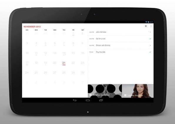 Cal integriert euren Any.Do-Aufgabenliste in den Kalender. (Grafik: Any.Do)