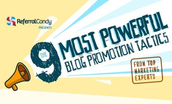 Marketing-Tipps für Blogger. (Grafik: ReferralCandy)
