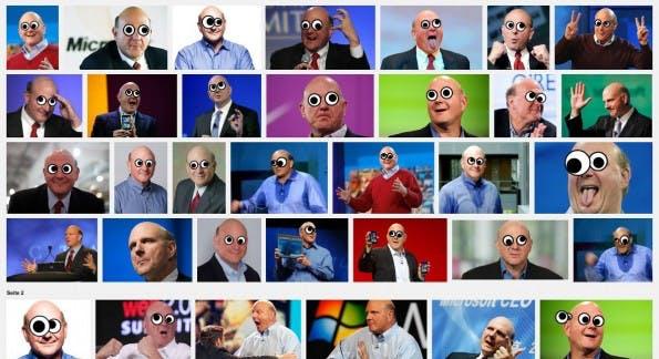 Chrome-Erweiterungen: Schau mir in die Augen, Kleines! (Screenshot: Google / Googlifier)