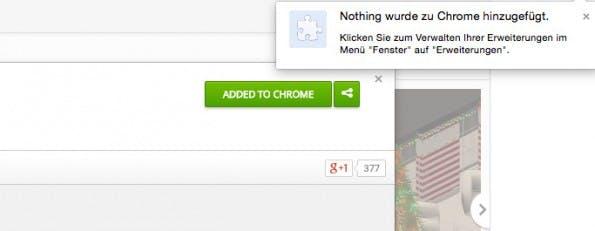 Chrome-Erweiterungen: Sinnfreier geht wirklich nicht. (Screenshot: Chrome-Web-Store)