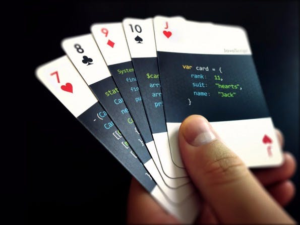 Code.deck ist ein schickes Kartenspiel für Entwickler. (Grafik: varianto25.com)