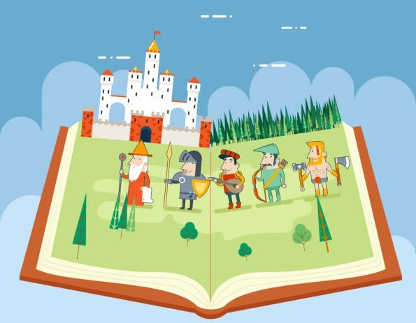 Im B2C-Bereich wichtig: Geschichten erzählen. (Grafik: Shutterstock)