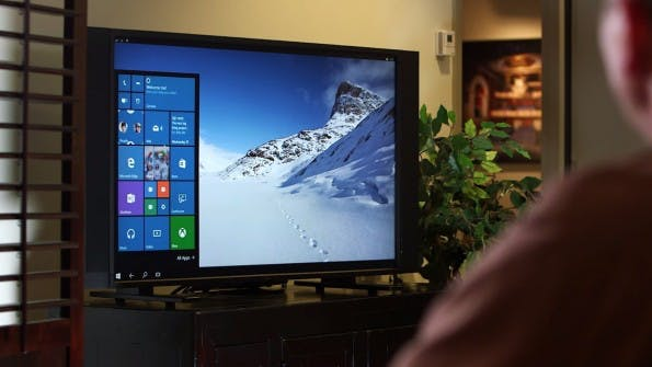 Continuum for Phones macht Windows-10-Smartphones zu Desktop-PCs. (Screenshot: Microsoft / YouTube)