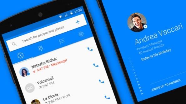 """Die Facebook-App """"Hello"""" synchronisiert die Nutzerinfos aus dem Social Network. (Bild: Facebook)"""