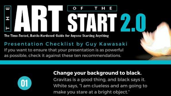 Guy Kawasaki gibt Tipps für erfolgreiche Präsentationen. (Grafik: Guy Kawasaki)