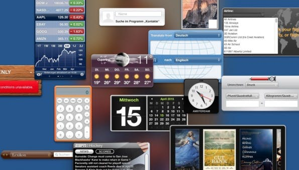 Mal ehrlich: Wer nutzt eigentlich diese ganzen Widgets auf dem Dashboard?