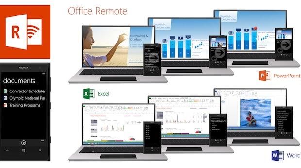 Fernsteuerung für PowerPoint und mehr: Das kann Microsofts Office Remote