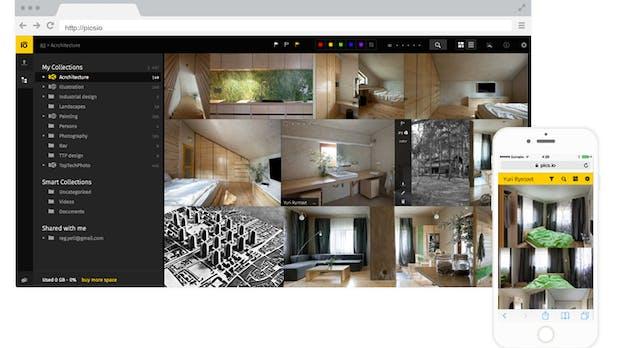 Einfache Versionsverwaltung in der Cloud für Designer: Das kann Pics.io