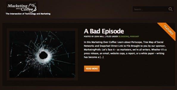 podcast coffee