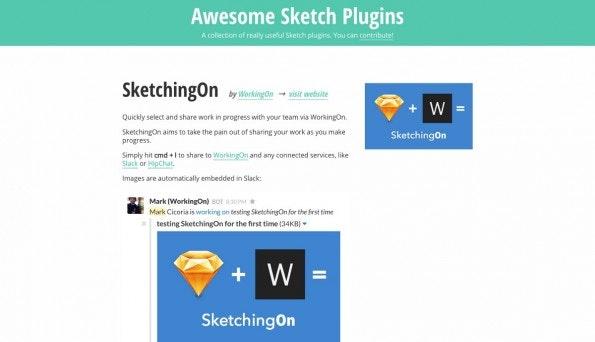 Bei Awesome Sketch Plugins handelt es sich um ein Projekt aus Deutschland. (Screenshot: Aswesome Sketch Plugins)