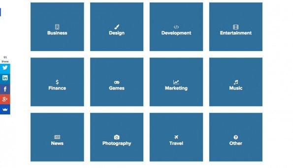 Auf Chats.Directory findet ihr zu fast jedem Thema eine Slack-Gruppe. (Screenshot: slack.directory)