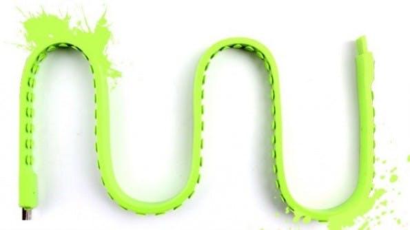 Snail: Käufer des USB-Kabels sollen die Farbe selbst bestimmen können. (Grafik: Snail / Indiegogo)