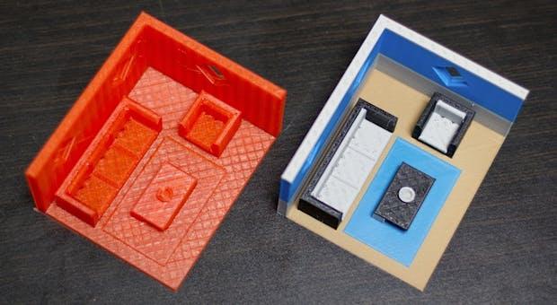 The Palette lässt jeden beliebigen 3D-Drucker mehrfarbig drucken