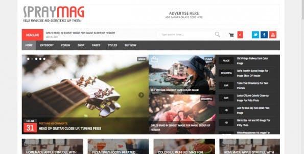 WordPress-Theme für News-Portal (Screenshot: wordpresssmart.com)