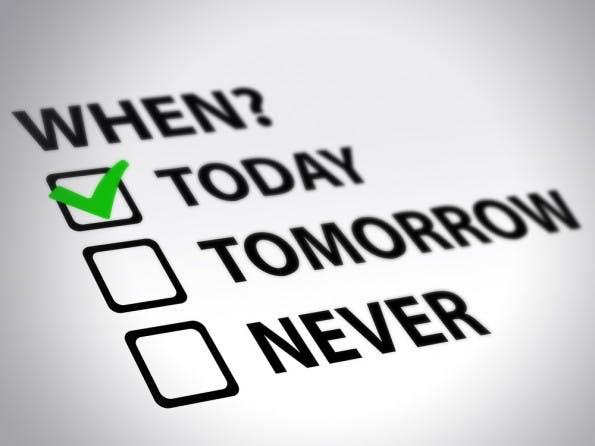 Manche Aufgaben tauchen immer wieder auf den To-Do-Listen auf, werden allerdings nie angerührt. Wie sinnvoll können diese Aufgaben also sein? (Foto: Shutterstock)