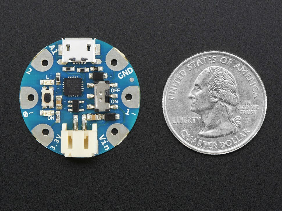 Mini-Board Arduino Gemma. (Foto: Adafruit)