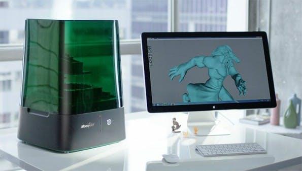 MoonRay: Kleiner Highend-3D-Drucker startet auf Kickstarter durch. (Foto: SprintRay/Kickstarter)