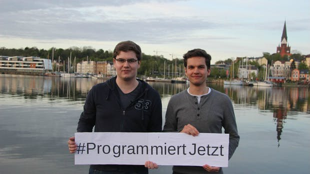 Programmieren lernen ohne dicke Bücher: Starter-Kit mit Kurzanleitung und Hardware auf Kickstarter