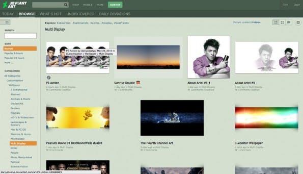 Die Community auf Deviant Art bietet ebenfalls einige Hintergründe an. (Screenshot: Deviant Art)