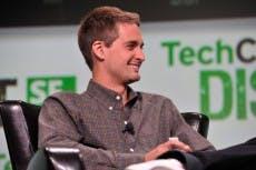Snapchat-Gründer Evan Spiegel. #FLICKR#