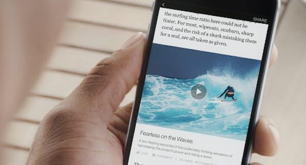 """""""Instant Articles""""-Feature soll Ladezeiten verringern und Medien die Möglichkeit geben ihre Inhalte auf Facebook selber zu vermarkten. (Foto: Facebook)"""