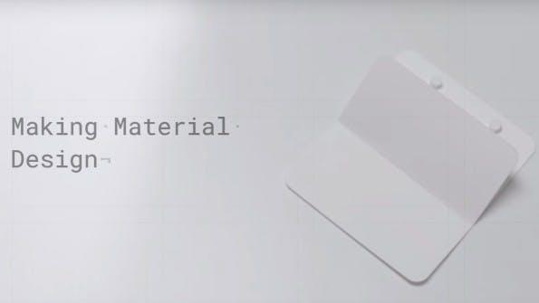 Designsprache: Google zeigt in einem Video, wie Material Design entstanden ist. (Screenshot: Google Design / YouTube)