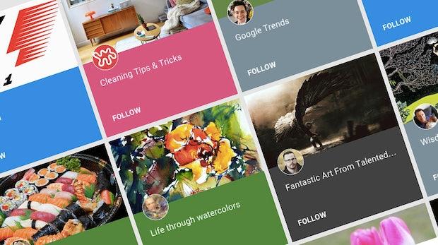 Collections: Wird Google+ zum Pinterest-Konkurrenten?