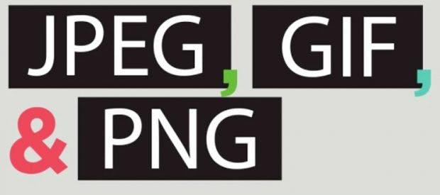 Bildformate im Übergblick: Wann du JPEG, GIF oder PNG benutzt (Infografik: WhoIsHostingThis)