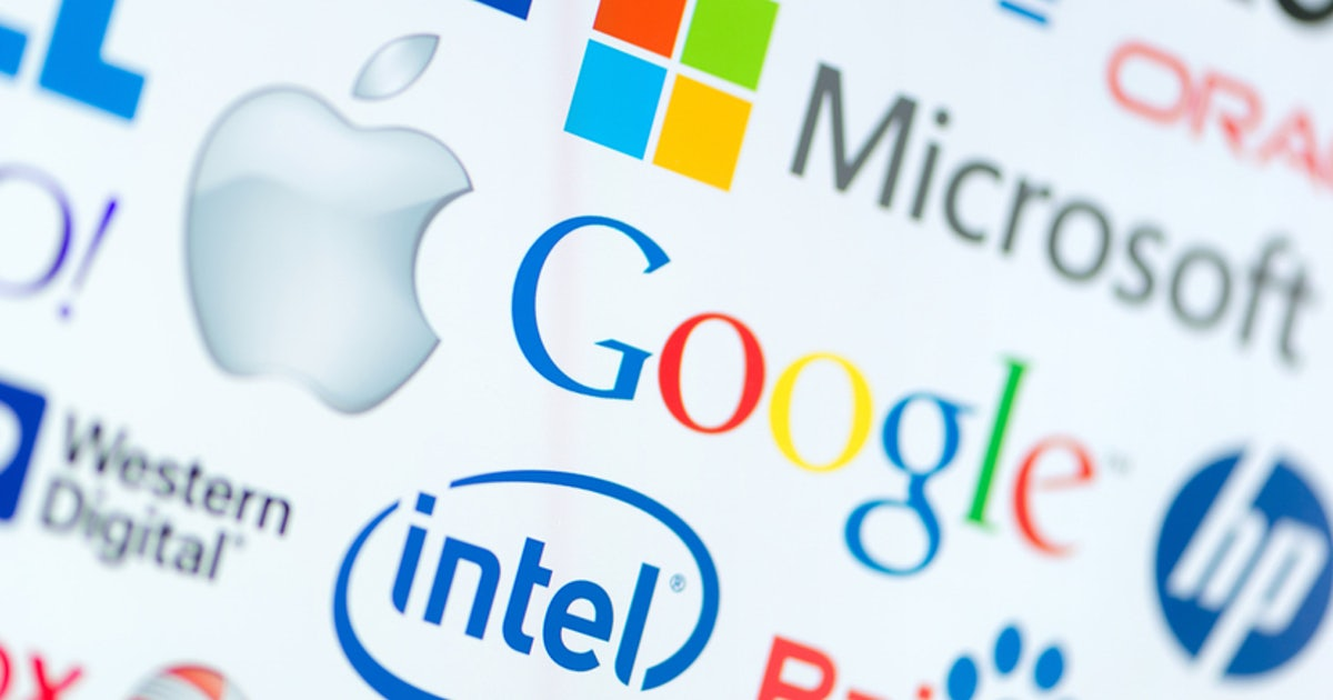 Tech-Logos im Wandel: Wie Google und Co. erwachsen wurden | t3n ...