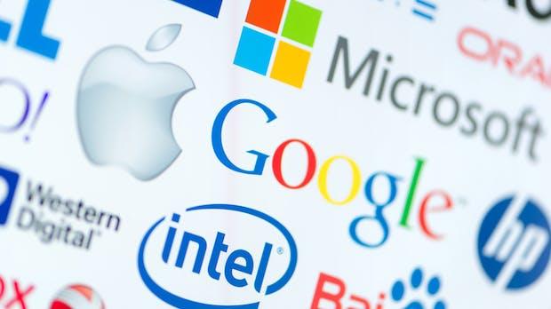 Tech-Logos im Wandel: Wie Google und Co. erwachsen wurden